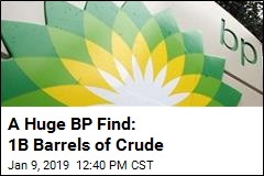 A Huge BP Find: 1B Barrels of Crude