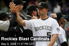 Rockies Blast Cardinals