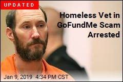 Homeless Vet in GoFundMe Scam Is Now Wanted