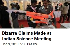 Indian Science Meeting Has Healthy Dose of Fiction
