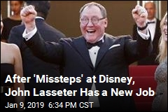 After 'Missteps' at Disney, John Lasseter Has a New Job