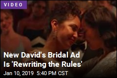 New David's Bridal Ad Is 'Rewriting the Rules'