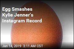 Egg Smashes Kylie Jenner's Instagram Record