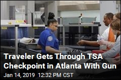 Traveler Gets Through TSA Checkpoint in Atlanta With Gun