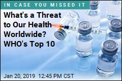 What's a Threat to Our Health Worldwide? WHO's Top 10