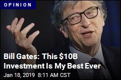Bill Gates Reveals His Best Investment
