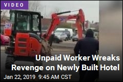 Unpaid Worker Wreaks Revenge on Newly Built Hotel