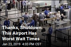 Shutdown Impact: Airports With the Worst Wait Times