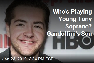 James Gandolfini's Son to Play Young Tony Soprano