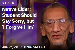 Native Elder: Student Should Say Sorry, but 'I Forgive Him'