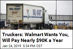 Walmart Hiring Hundreds More Truckers, Boosting Pay