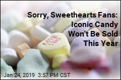 Sorry, Sweethearts Fans: Iconic Candy Won't Be Sold This Year