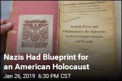 Nazi Blueprint Turns Up for an American Holocaust