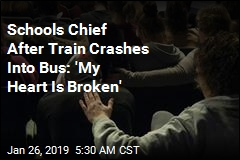 One Student Dead, 2 Injured After Train Crashes Into School Bus