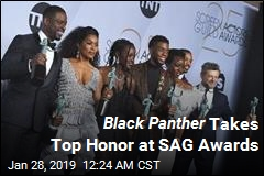 Black Panther Takes Top Honor at SAG Awards