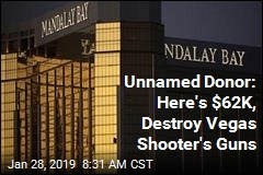 Unnamed Donor: Here's $62K, Destroy Vegas Shooter's Guns