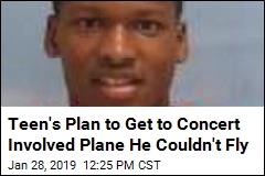 Teen Interested in Rap Concert Tried to Steal Jet to Get There