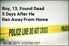 He Ran Away After 'Discussion' at Home. 5 Days Later, His Body Was Found