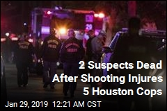 2 Suspects Dead After Shooting Injures 5 Houston Cops