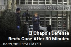El Chapo's Defense Rests Case After 30 Minutes