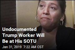 She Spoke of Working Illegally for Trump. She'll Be at His SOTU