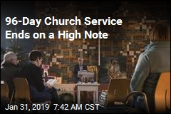 96-Day Church Service Ends on a High Note