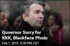 Governor Apologizes for Blackface Photo