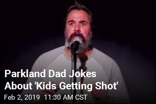 Parkland Dad Gives Standup for Louis CK