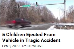 5 Children Ejected From Vehicle in Tragic Accident