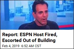Report: Star ESPN Host 'Fired for Leaking Info'