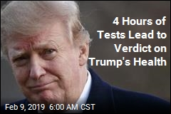 4 Hours of Tests Lead to Verdict on Trump's Health