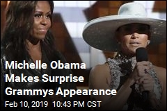 Michelle Obama Makes Surprise Grammys Appearance