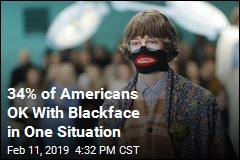34% of Americans OK With Blackface in One Situation