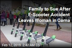 Family to Sue After E-Scooter Accident Leaves Woman in Coma