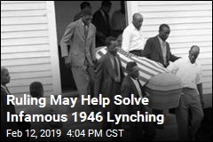 Ruling May Help Solve 1946 Lynching