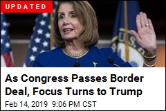 Pelosi Has Warning for Trump as Senate Approves Border Deal