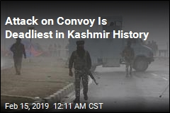 Attack on Convoy Is Deadliest in Kashmir History
