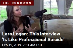 Lara Logan: This Interview 'Is Like Professional Suicide'