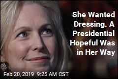 She Wanted Dressing. A Presidential Hopeful Was in Her Way