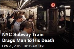 NYC Subway Train Drags Man to His Death