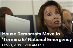 House Democrats Ready Fight Over National Emergency
