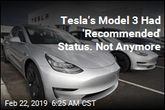 Consumer Reports Yanks Tesla's Recommendation