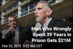Man Who Spent 39 Years in Prison for Murder He Didn't Commit Gets $21M