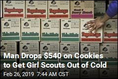 Man Drops $540 on Cookies to Get Girl Scouts Out of Cold