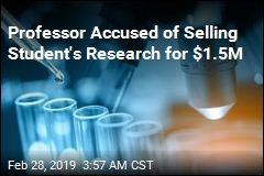University Says Professor Stole, Sold Student's Research