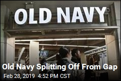 Gap, Old Navy Splitting Up