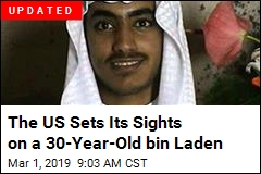US Announces $1M Reward for Info on bin Laden's Son