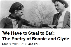 Now You Can Own Poetry by Bonnie and Clyde