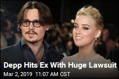 Depp Sues His Ex for $50M