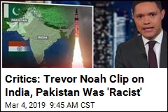 Trevor Noah (Sort of) Sorry for India-Pakistan Riff